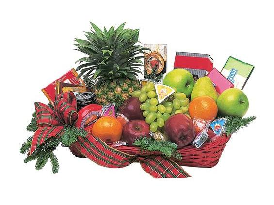 Fruit and Gourmet Basket (TF104-3)