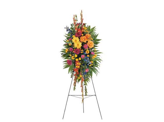Celebration of Life Standing Spray  (TF203-8)