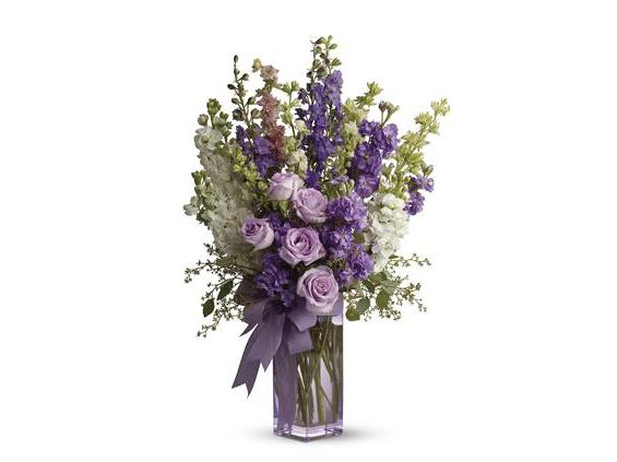 Teleflora's Pretty in Purple (TFWEB518)