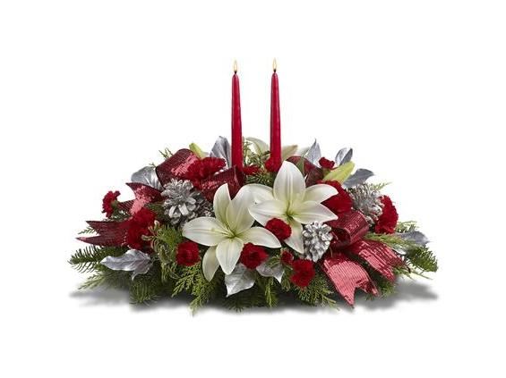 Lights Of Christmas Centerpiece (TWR08-1A)