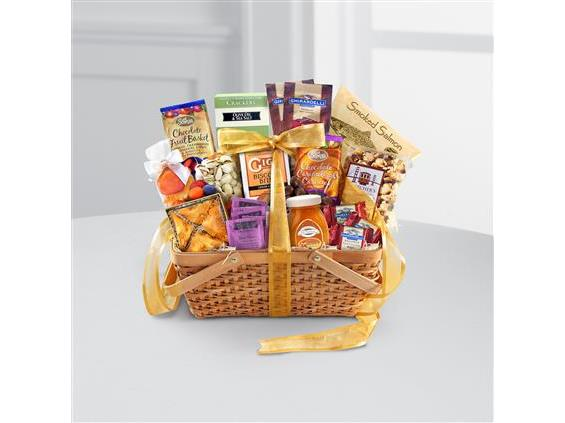 Gourmet Riches Kosher Gift Basket (WGGF67)