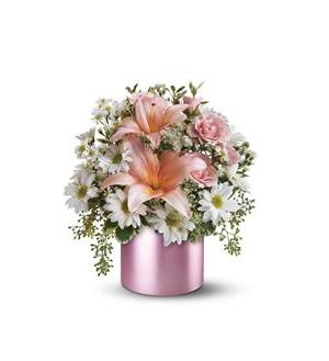 Teleflora's Tickled Pink Bouquet (08N220B)