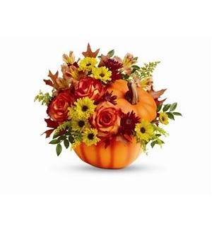 Teleflora's Warm Fall Wishes Bouquet (T13H110A)