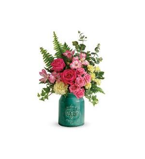 Teleflora's Country Beauty Bouquet (T18M300A)