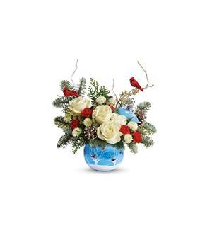 Teleflora's Winter Flock Bouquet (T18X405A)