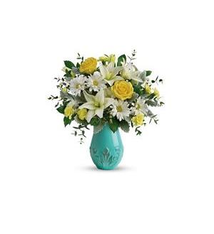 Teleflora's Aqua Dream Bouquet (T19E100A)