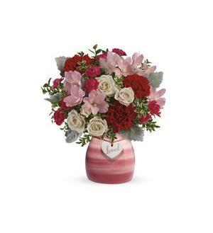 Teleflora's  Painted  in  Love  Bouquet (T21V305A)
