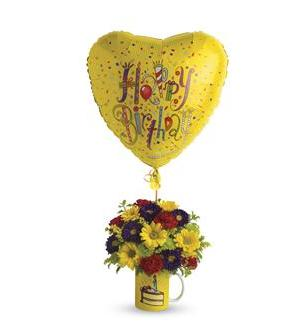 Teleflora's Hooray for Birthday (T22-1A)
