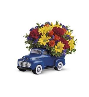 Teleflora's '48 Ford Pickup Bouquet (T25-1A)