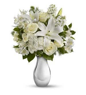 Faith Hill - Shimmering White Bouquet (T407-1A)