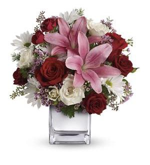 Teleflora's Happy in Love Bouquet (T410-1A)