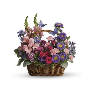 Country Basket Blooms (T48-3A)