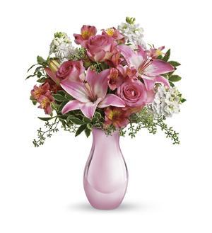 Telefloras pink reflections bouquet t52 1a 5576 telefloras pink reflections bouquet t52 1a mightylinksfo