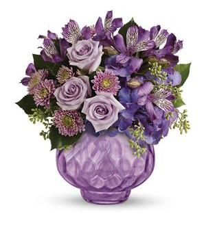 Teleflora's Lush and Lavender