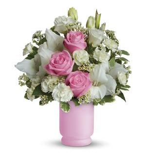 Teleflora's Pink and White Delight (TEV08-1A)