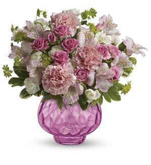 Teleflora's Simply Pink Bouquet (TEV22-3A)