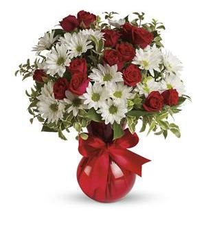 Red white and you bouquet by teleflora tev23 2a 4226 red white and you bouquet by teleflora tev23 2a mightylinksfo