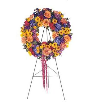Celebration Wreath   (TF203-10)