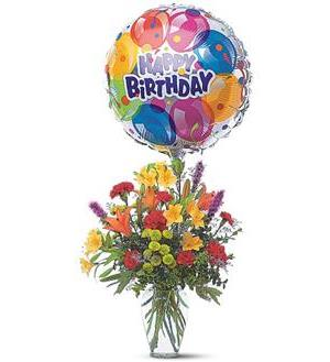 Birthday Balloon Bouquet TF42 1
