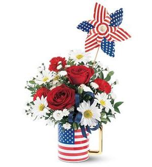 Teleflora's Spirit of America (TF70-1)