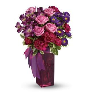 Bunches Of Blooms Bouquet