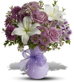 Precious In Purple Bouquet Tfweb602 42 26