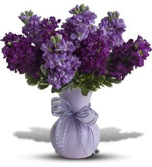 Visions Of Violet Bouquet