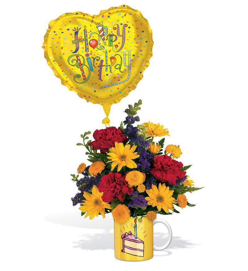 Telefloras Birthday Surprise Bouquet 06N300B