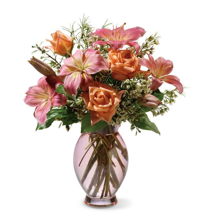 Teleflora's Dawn Inspiration Bouquet - As Shown