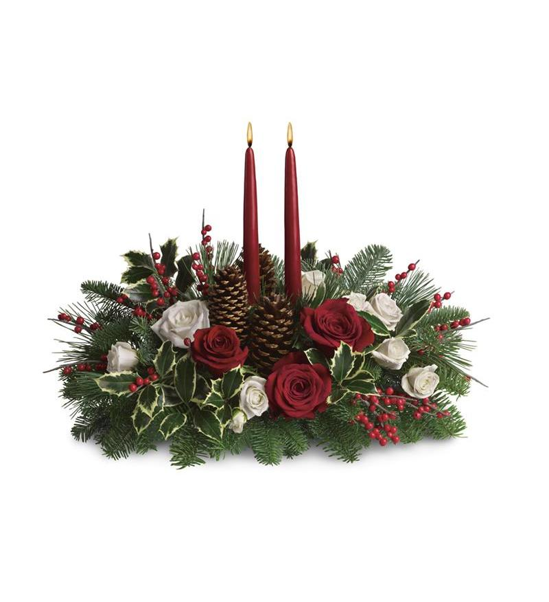 Christmas wishes centerpiece t a