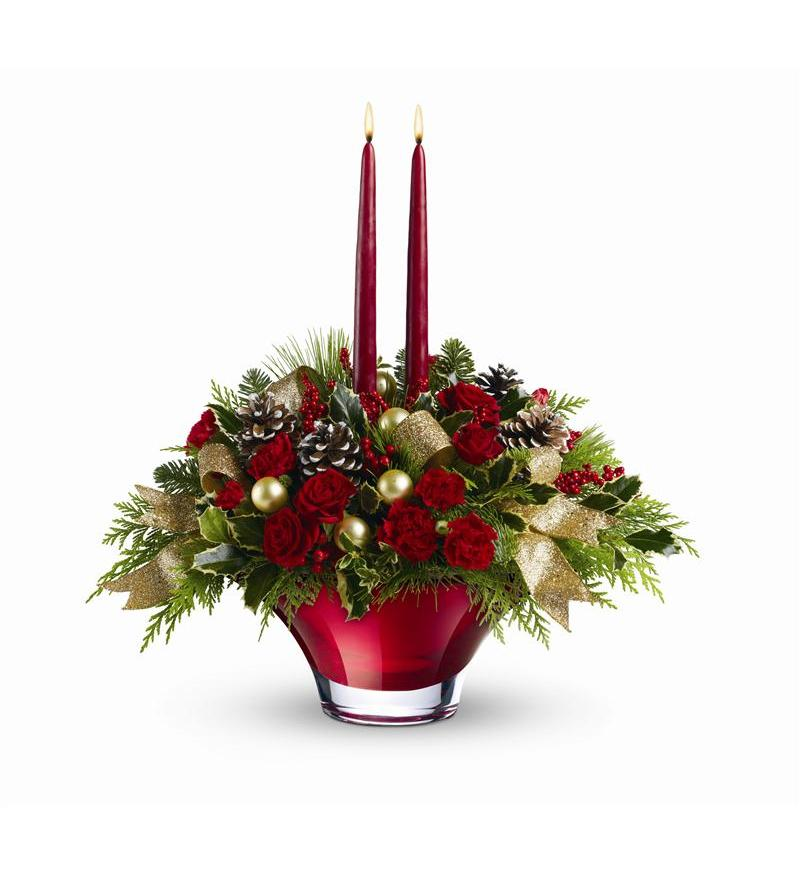 Teleflora christmas centerpieces pictures to pin on
