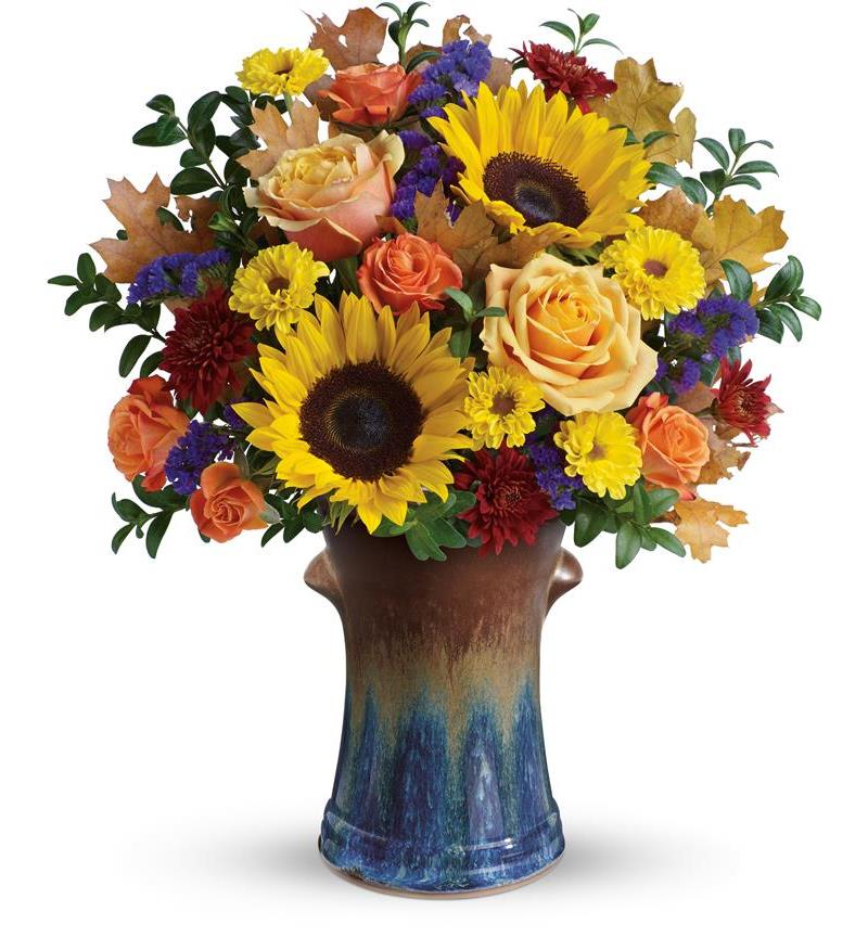 Teleflora s country sunflowers bouquet t a