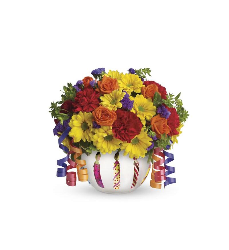 Teleflora S Brilliant Birthday Blooms T28 1a 46 76