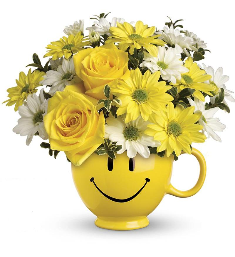 Teleflora\'s Be Happy Bouquet - T43-1A ($42.26)