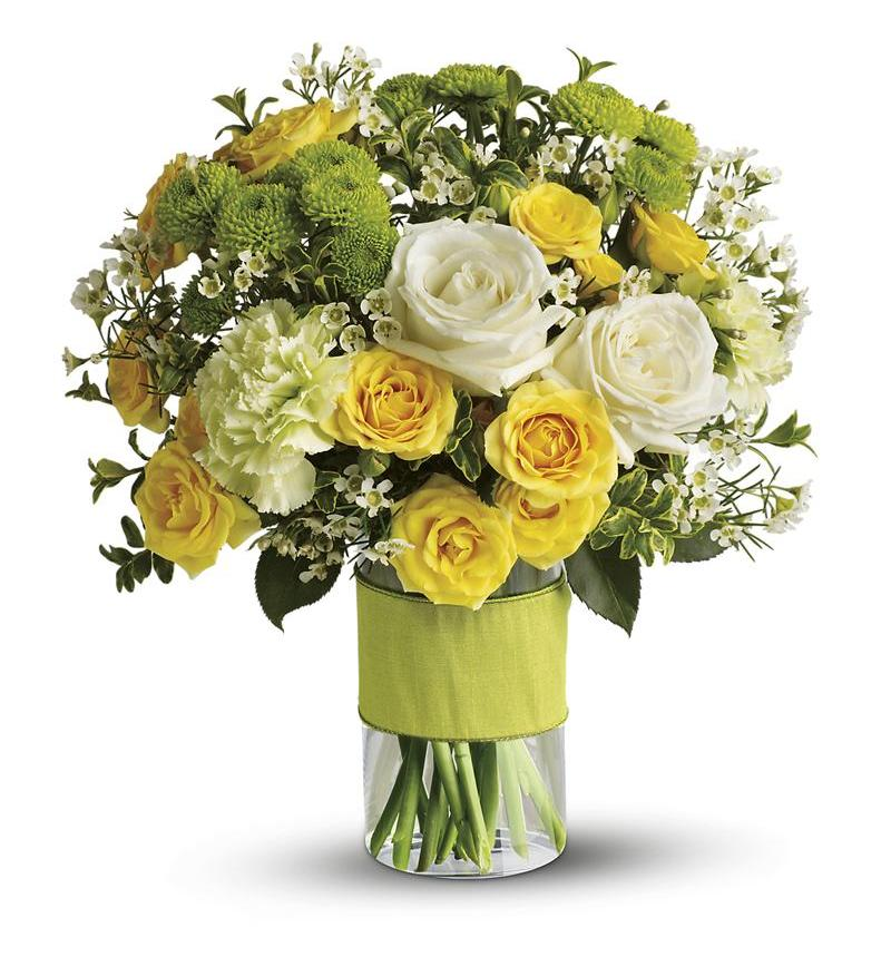 Flowers From You: Your Sweet Smile By Teleflora