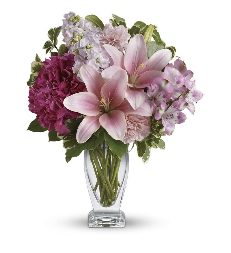 Teleflora S Blush Of Love Bouquet Tev21 1a 60 26