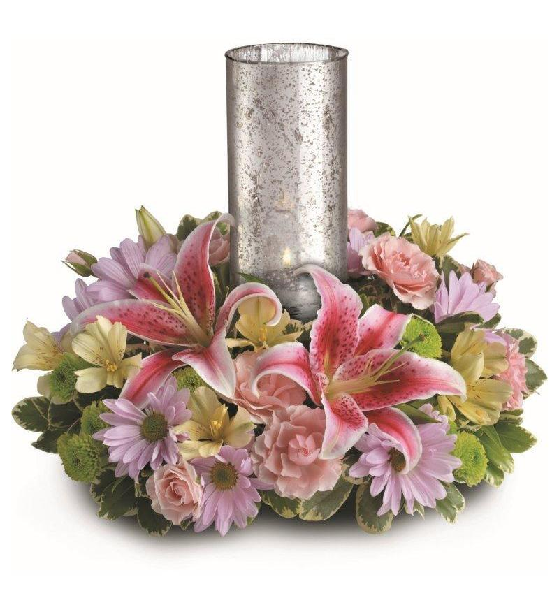 Just delightful centerpiece by teleflora tev a