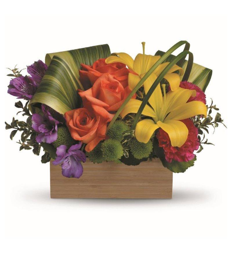 Teleflora S Shades Of Brilliance Bouquet Tev32 3a 60 26