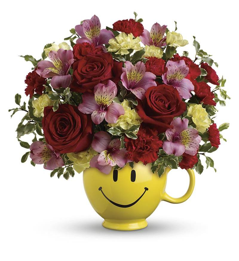 So Happy You Re Mine Bouquet By Teleflora Tev40 3a 49 46