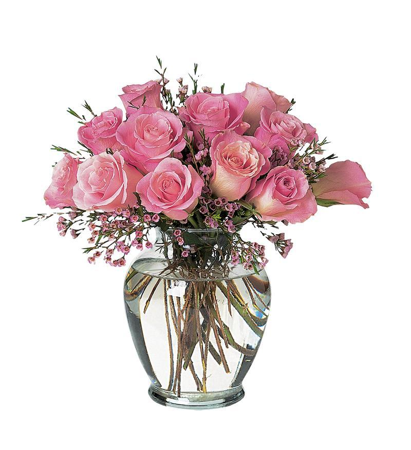 Pink Birthday Roses - TF44-2 ($64.76)