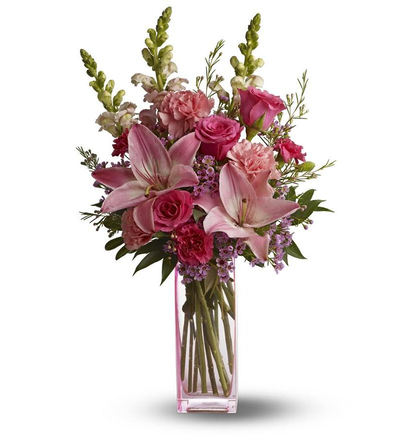 Teleflora's Pink Wink - As Shown