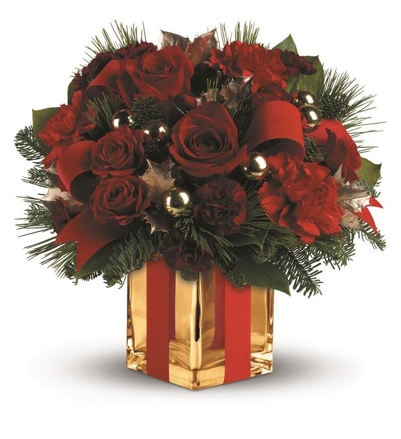 All Wrapped Up Bouquet by Teleflora - TWR08-2A ($51.26)