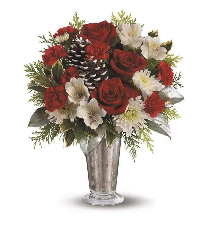 Teleflora S Timeless Cheer Bouquet Twr10 1a 51 26