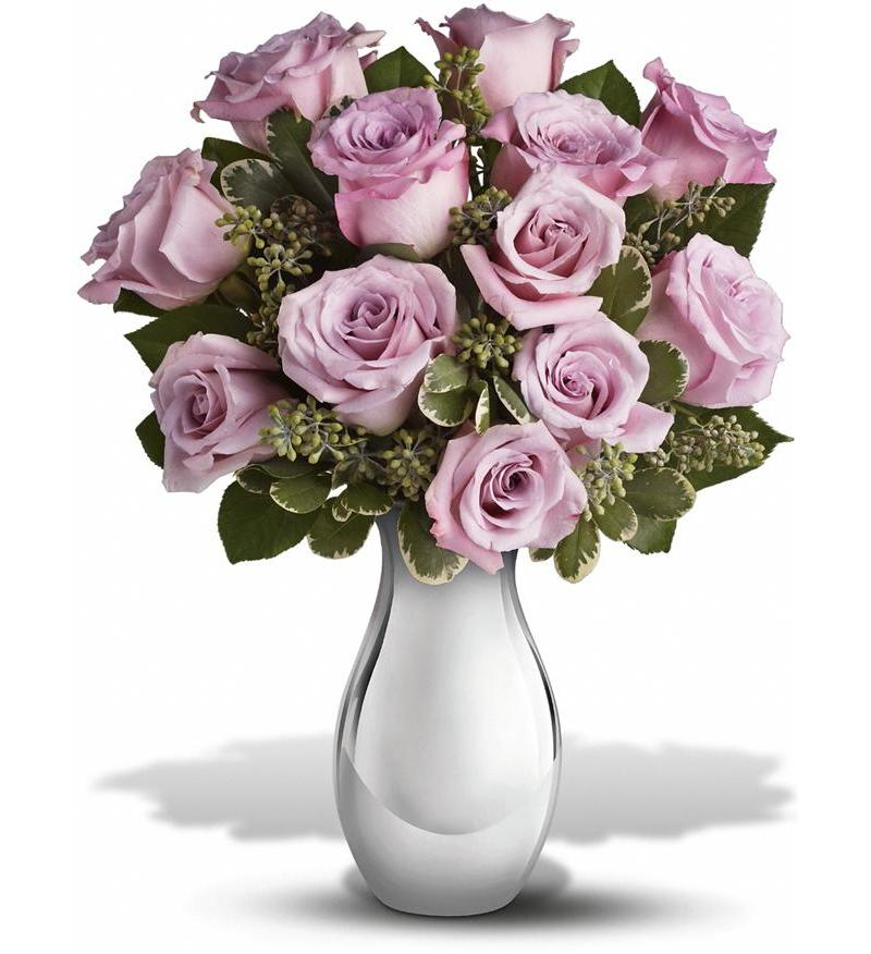 Teleflora's Roses and Moonlight Bouquet -