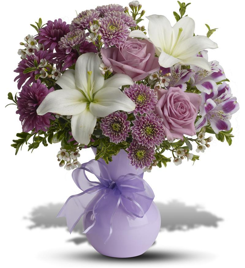Precious In Purple Bouquet - TFWEB602 ($42.26)